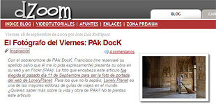 PAk Dock in dZoom